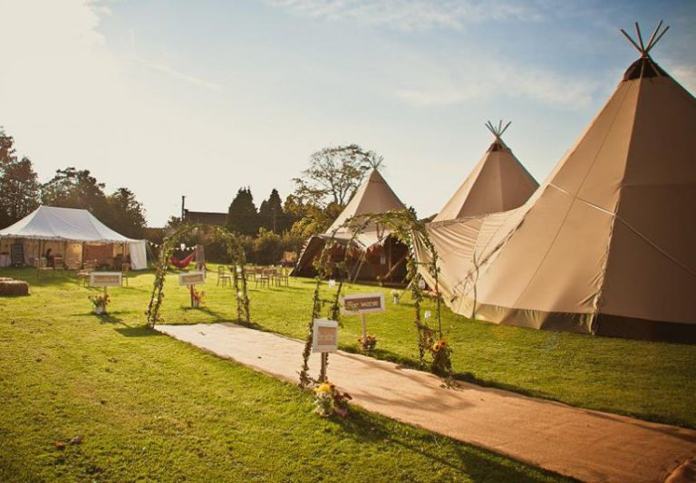 Teepees for Weddings, Parties, and Events