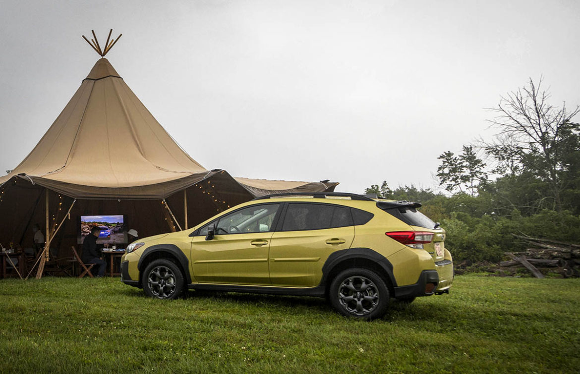 Event in a Tent Tipi Tents Make an Appearance at the 2021 Subaru Crosstrek Sport Corporate Event in Ohio
