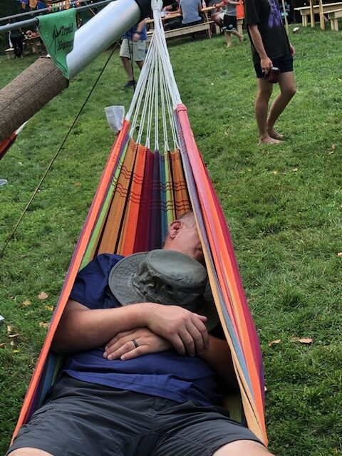 Tipi Party Hammocks - Event in a Tent