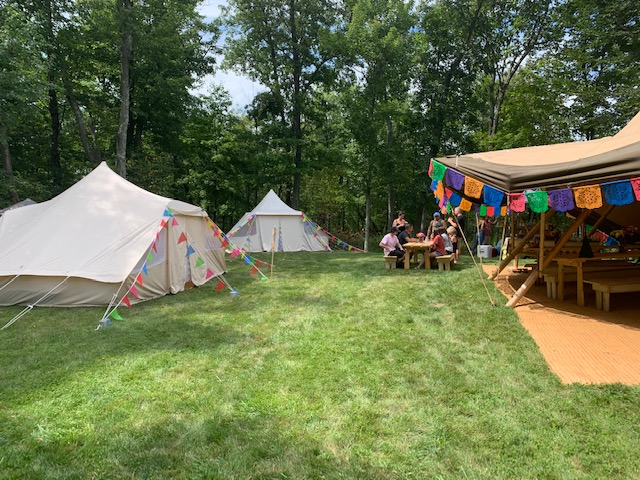 GlampADK and Event in a Tent Partner up at a 50th Tipi Style Birthday Bash in New York!
