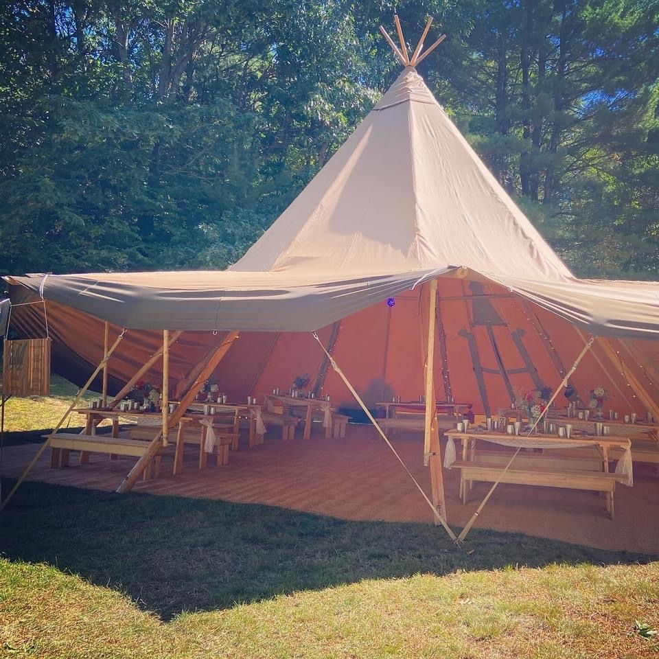 teepees for weddings