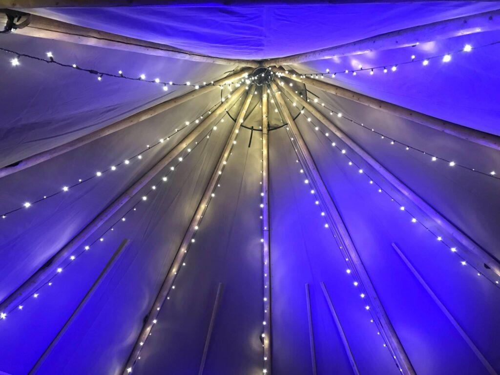 Teepee Wedding Tent Venue